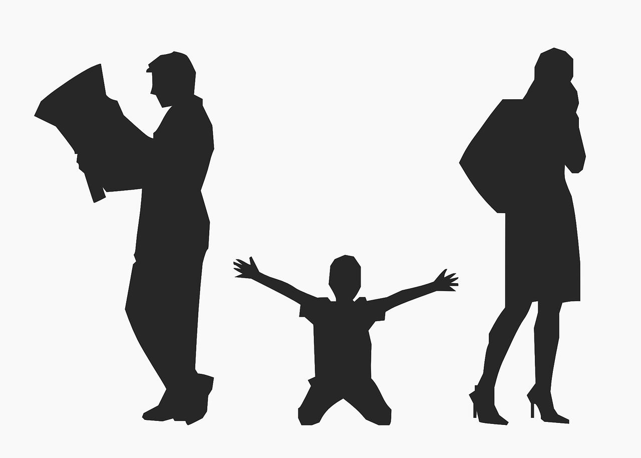 Que sucederá con los hijos cuando los padres se divorcian